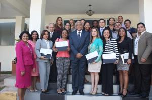 Entrega de diplomas del Diplomado en Ética de la Gestión Pública