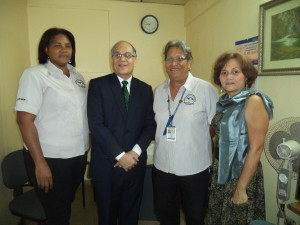 Procurador visita Centro de Mediación de Parque Lefevre
