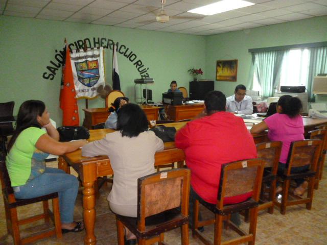 Capacitación legal a los municipios de Las Tablas, Pedasí, Tonosí y Guararé.