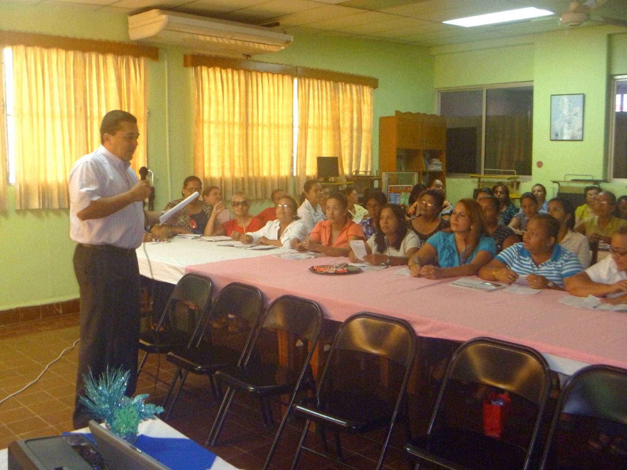 """Seminario taller """"Código de ética de los servidores públicos"""" en la provincia de Herrera"""