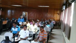 Formando a  servidores públicos que administran justicia en Bocas del Toro