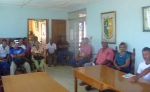 Reunión en el distrito de Parita