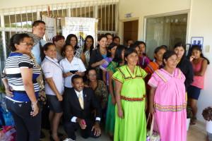 Conmemoración del día internacional de la mujer en la provincia de Chiriquí