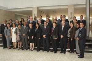 """Ceremonia inaugural del """"Plan maestro de formación regional de justicia y seguridad"""""""
