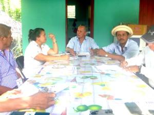 Jornada de capacitación a los corregidores  del distrito de Las Minas,  provincia de Herrera