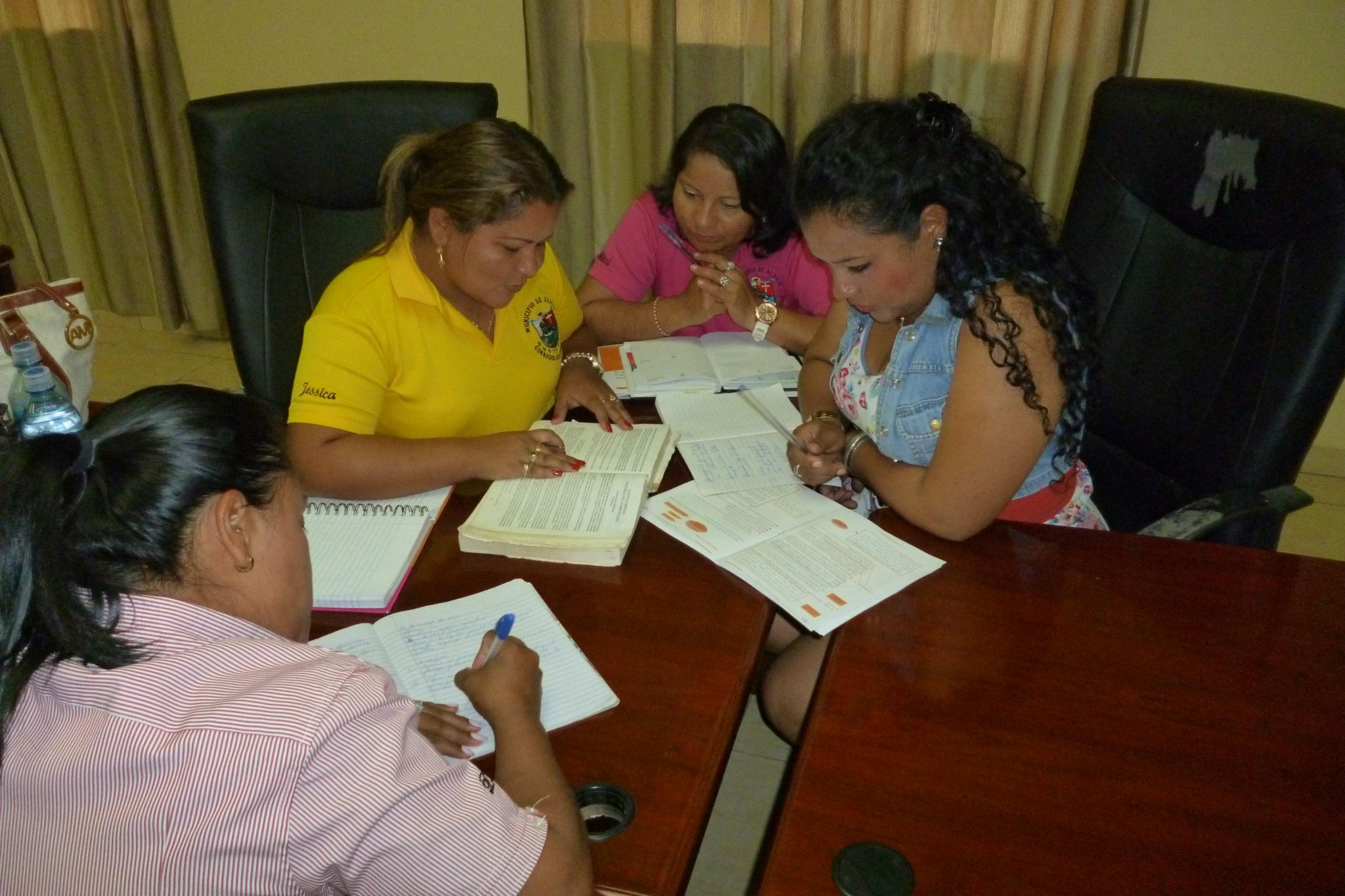 Capacitación legal en el municipio de Alanje