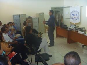 Jornada de capacitación en la Autoridad Nacional de Administración de Tierras de la provincia de Herrera