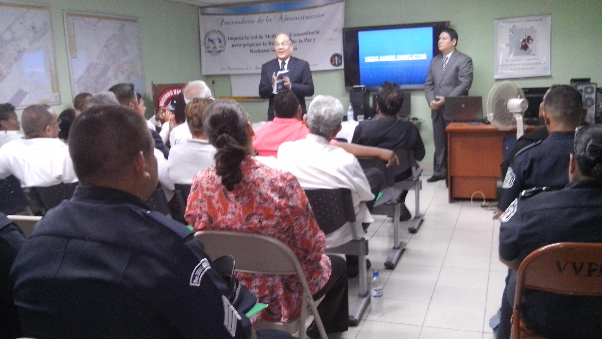 Seminario Taller «Manejo de conflicto y mediación comunitaria Parque Lefevre y San Miguelito