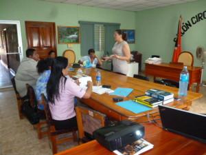 Capacitación a las autoridades de policía de la provincia de Los Santos