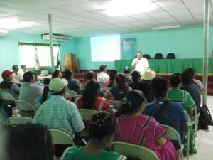 """Seminario """"Marco Legal y Gestión Municipal"""" en la Comarca Ngäbe Buglé"""