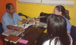 Oficina Regional de Los Santos visita a Radio Única de la ciudad de Las Tablas