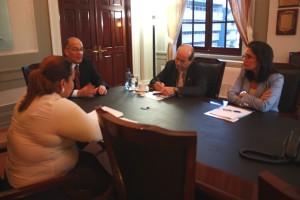Representante de la OEA se reúne con el Procurador de la Administración