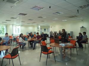 Estudiantes de la USMA conocen sobre Infojuridica