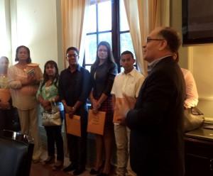 Estudiantes de la Universidad Latina visitan la Procuraduría de la Administración
