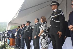 Procurador asiste al acto de graduación de nuevos policías