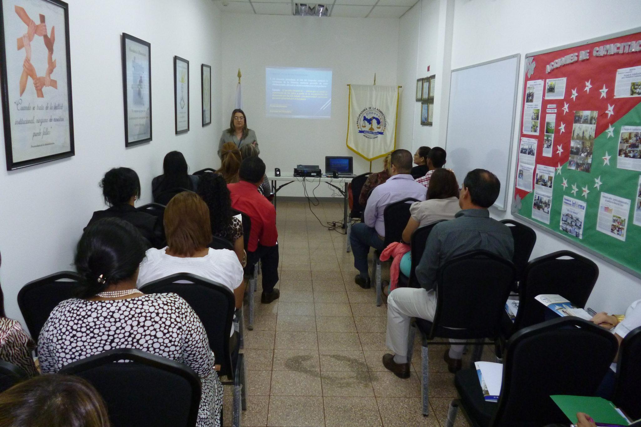 Capacitación legal sobre «El Manejo, Elaboración y Archivo del Expediente Administrativo»
