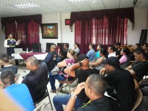 Conversatorio  sobre: Cadena de Custodia