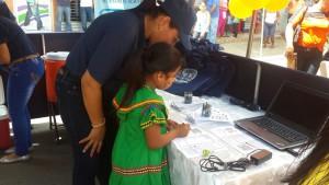 Feria de celebración del día del niño y niña en Macaracas
