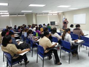 Seminario sobre Gramática, Redacción y Ortografía en la provincia de Coclé