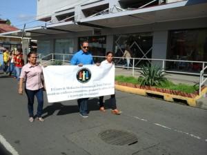 Caminata en conmemoración al Día Internacional de la Alfabetización