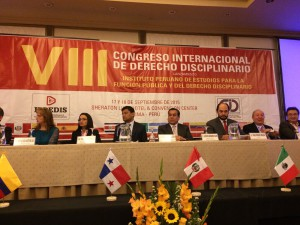 Foro Internacional sobre Derecho Disciplinario