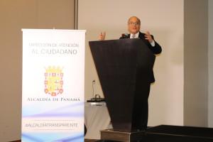 Procurador participa como expositor en conferencia de la Alcaldía de Panamá