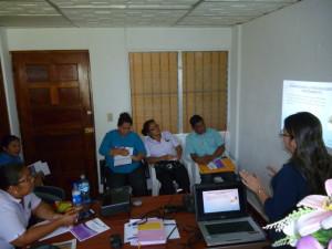 Capacitación a las autoridades locales sobre: Proceso Especial de Alimentos