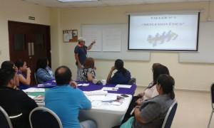 Seminario taller: «Ética Laboral» en la Universidad Tecnológica de Panamá