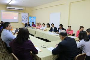 Reunión del comité ejecutivo de la Procuraduría de la Administración