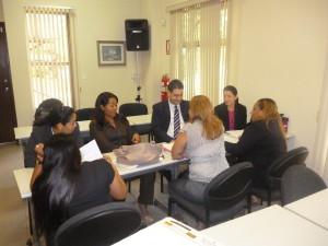 Seminario taller «Principios y valores del servidor público», desarrollado en el Centro de Capacitación de la Procuraduría de la Administración