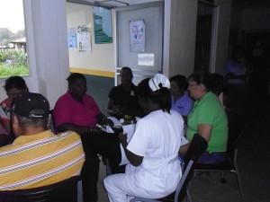 El Centro de Salud de Nombre de Dios se capacita en Calidad de la Gestión Pública
