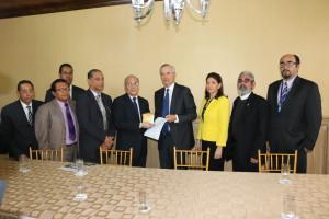 Comisión de Estado por la Justicia entrega informe al Ejecutivo