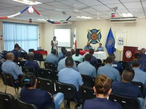 Reflexiones Éticas con el Benemérito Cuerpo de Bomberos en la provincia de Chiriquí