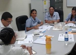 Capacitación  a secretarias de la alcaldía con el seminario taller Proceso de Tránsito I