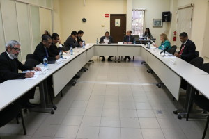 Octava Reunión de la Comisión de Estado por la Justicia