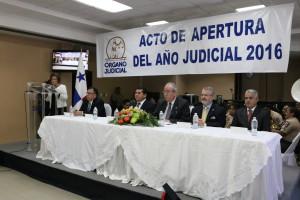 Secretaria general asiste a la apertura del año judicial de la CSJ