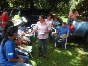 Sensibilizando a la comunidad de Santa Rita, distrito de Boquerón, provincia de Chiriquí