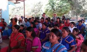 Sensibilización en la comunidad de Camarón Arriba, distrito de Besikó