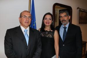 Cóctel en honor a delegación de Diputados del Parlamento Europeo