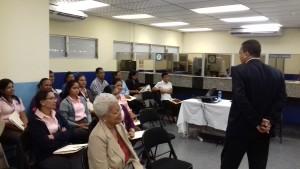 """Seminario taller """"Código de ética de los servidores públicos"""" en la LNB, provincia de Coclé"""
