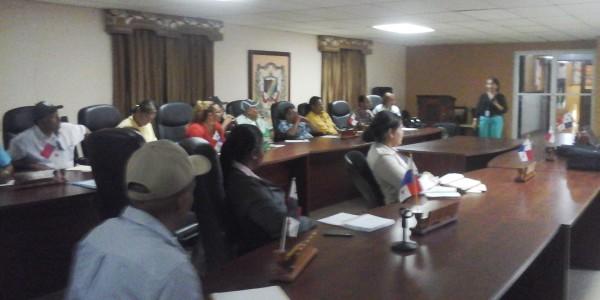 Jornada de capacitación legal en Los Santos sobre: El Allanamiento