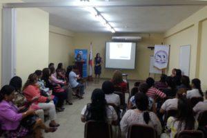 """Secretarias de instituciones públicas de Veraguas se capacitan en: """"Fortalecimiento de la autoestima con enfoque de género"""""""