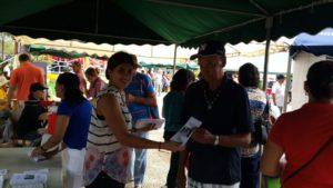 Centros de Mediación Comunitaria participan en la Feria de San Isidro del distrito de Guararé