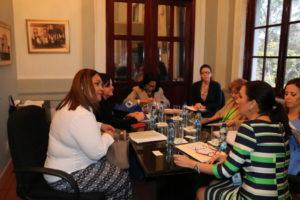 Reunión de coordinación entre el MIRE y la PA