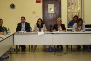 Se reúne mesa de trabajo para la implementación de la Justicia Comunitaria de Paz
