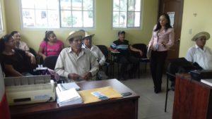 Facilitadores judiciales del distrito de La Pintada