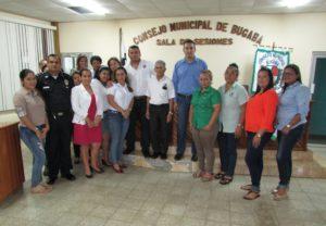 Capacitación legal a los municipios de Barú y Bugaba