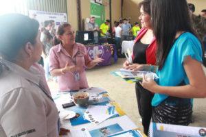 Promoción de los Centros de Mediación Comunitaria de David y San Félix, en el XII Encuentro Juvenil y la X Feria Juvenil Institucional