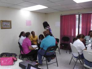 Seminario taller en el Banco de Desarrollo Agropecuario de la provincia de Colón