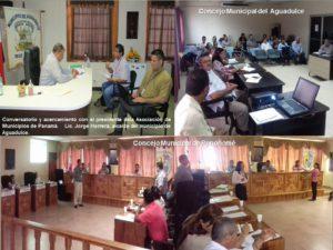 Reunión del Concejo Municipal de Aguadulce y Penonomé